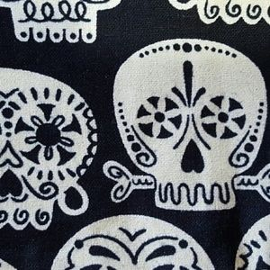 handcrafted Accessories - Two Headbands Owl and Glow In The Dark Skull NWT
